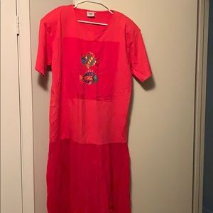 Vintage Johnny was fish Tshirt dress L